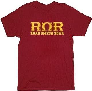 Monsters University Roar Omega Roar Maroon Adult T-Shirt