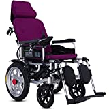 Acyon Electric Powered Wheelchair Folding Lightweight with...
