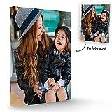 Fotoprix Lienzo Personalizado con Foto | Regalo Original con foto | Varios tamaños de lienzos de fotos (40 x 50 cms)