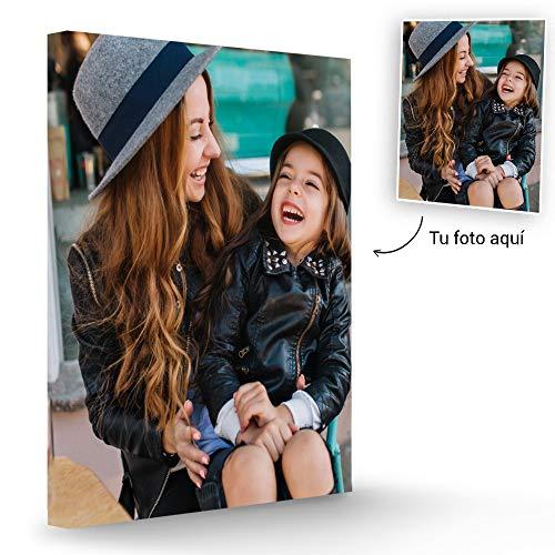 Fotoprix Lienzo Personalizado con Foto | Regalo Original con foto | Varios tamaños de lienzos de fotos (30 x 40 cms)