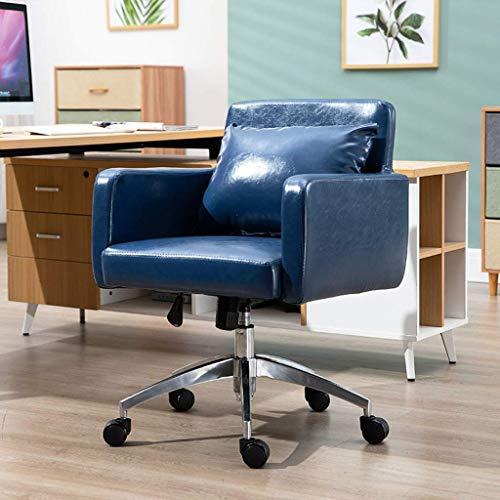 N/Z Daily Equipment Chairs Ergonomischer Schreibtischstuhl Langlebig und stabil Höhenverstellbar für Home Office Schwarz
