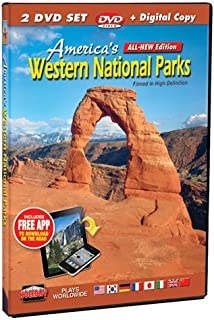 America's Western National Parks Filmed in HD 2 DVD Set