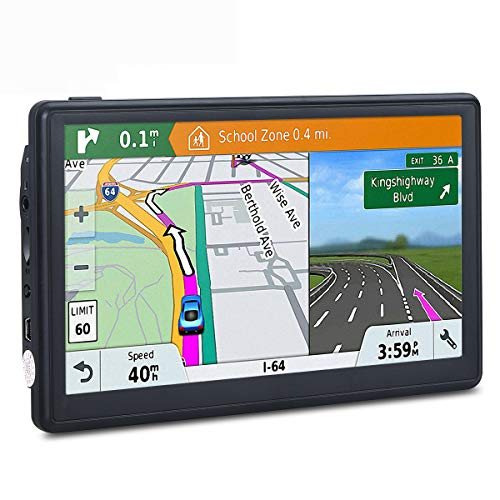 Best Price! Car GPS, 7-inch Portable 8GB Navigation System for Cars, Lifetime Map Updates, Vehicle G...