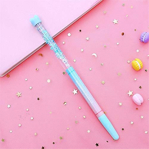 Geschenk Gel Pen Pink Star Tool zum Schreiben Neutrale Pens Glatte Kawaii