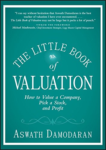 The Little Book of Valuation: How to Value a Company, Pick a Stock and Profit (Little Books. Big Profits) (English Edition)