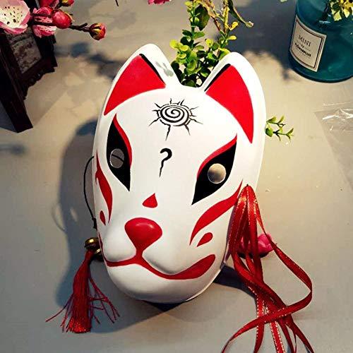 kingpo Máscara de Zorro, máscara de Disfraz de Mascarada