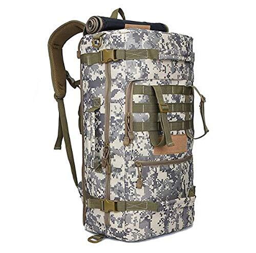 MX kingdom 50L Tactical Backpack, Multi-purpose Backpack, Military Army Combat Rucksack Trekking Rucksack, Hiking Backpack