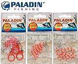 Paladin 54 Silikon Stopper Perlen Schnurstopper Spirolino Pose, Forellenangeln, Angeln auf Forelle,...