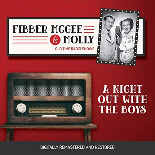 Diseño de la portada del título Fibber McGee and Molly: A Night Out with the Boys