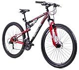 Benotto MDHBLC2921UNNR Bicicleta Montaña con Frenos Doble Disco Mecanico para...