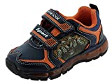 GEOX J ANDROID BOY A NAVY/ORANGE Boys' Trainers Low-Top Trainers size 29(EU)