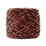 FeiliandaJJ 250g 25 Farben Gold Samt Yarn Roving Wolle Zum