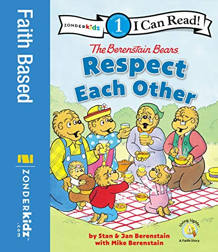 The Berenstain Bears Respect Each Other: Level 1 (I Can Read! / Berenstain Bears / Living Lights: A Faith Story) (English Edition)