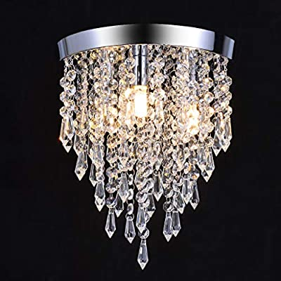 Amazon - Save 80%: LUORATA US Crystal Chandelier, Modern Chandeliers Crystal Ball L…