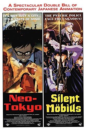 Neo-Tokyo Silent Mobius Combo Movie Poster (68,58 x 101,60 cm)