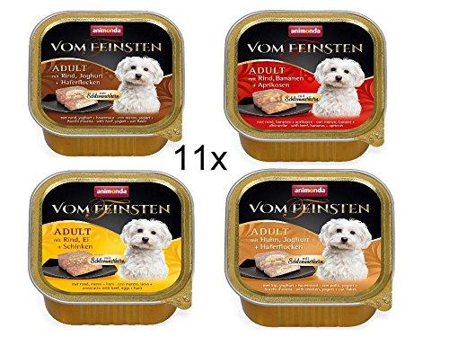 Animonda Hund Vom Feinsten Adult Special Mix Probierset Hundefutter Größe 11 x 150g