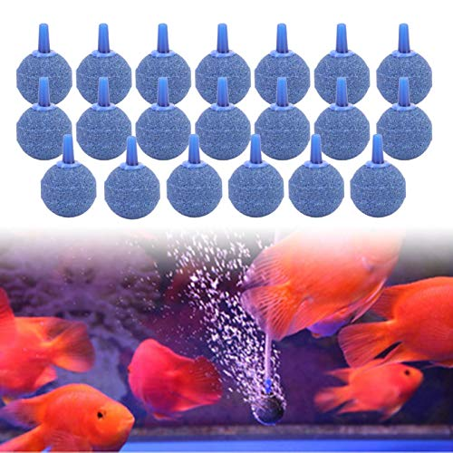 SALUTUYA Aquarium Bubble Stones Blauer Sandstein für Aquarium für Fischtanks Pumps