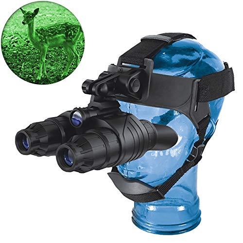DOTXX 1x20 Nachtsicht Fernglas Nachtsichtgerät Digital Kopf Montiert Hände frei Helmbrille HD Geeignet für die Nachtsichtjagd