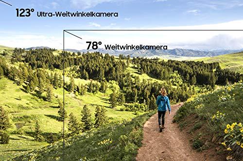 Samsung Galaxy A50 Smartphone (16.3cm (6.4 Zoll) 128GB interner Speicher, 4GB RAM, Weiß) - Deutsche Version