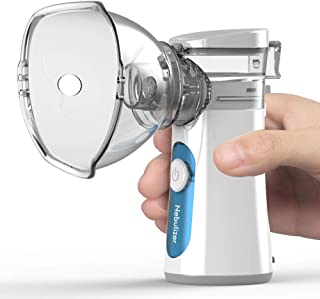 Nebulizador Portátil Inhalador Eléctrico Silencioso con Bo