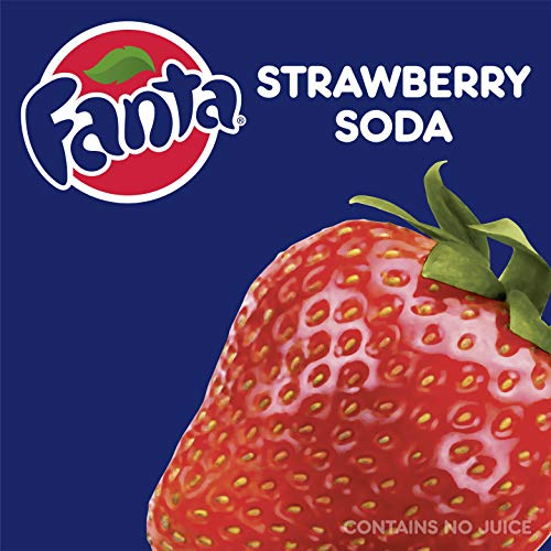 Fanta Strawberry Fridge Pack Bundle, 12 fl oz, 36 Pack