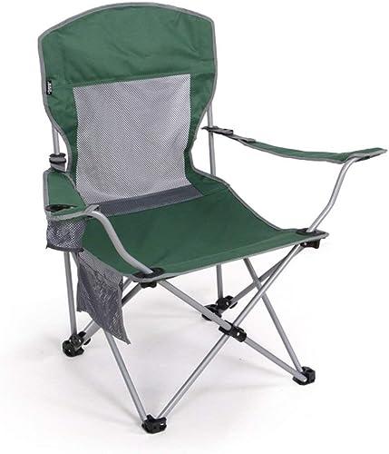 Chaises Pliantes Deux chaises hautes réglables Chaise de pêche portable en plein air Chaise longue de pause-déjeuner 2 couleurs facultatives Tabourets de 55  55  94 cm (Couleuration  A) résistant