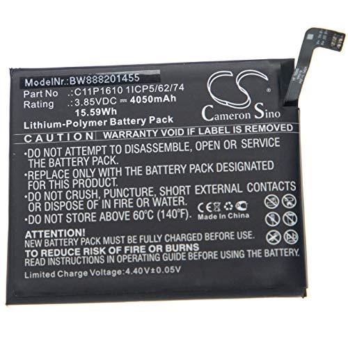 vhbw batteria compatibile con Asus ZenFone Pegasus 4A, ZB500TL smartphone cellulare telefono cellulari (4050mAh, 3,85V, Li-Poly)