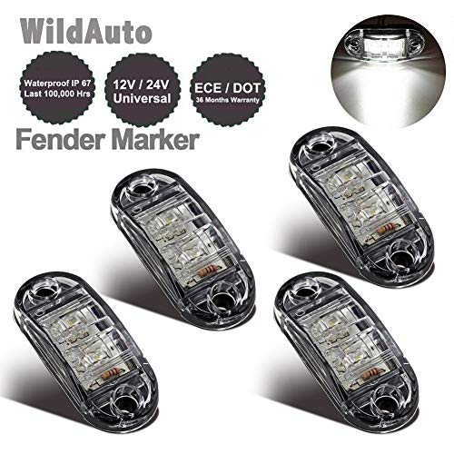 WildAuto - Led Camión Luces De Posicion Lateral , Luces Galibo - Para Camión...