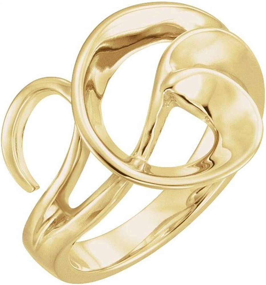Super Special SALE held Freeform Ring Band = Max 82% OFF Width 15mm
