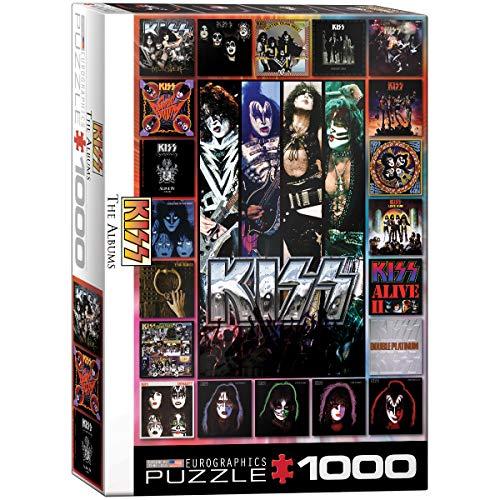 EuroGraphics 6000-5305 15.240–13.474,7cm Kiss The Alben Puzzle (1000Teile)