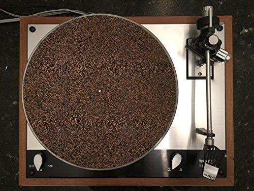 CoRkErY2 Cork N Rubber Turntable Platter Mat – 1/8