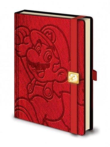Nintendo Super Mario Carnet A5 Premium
