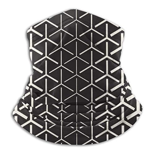 Osmykqe Kopfbedeckung Halbton Farbverlauf Mosaik Gitter Nahtlos 10