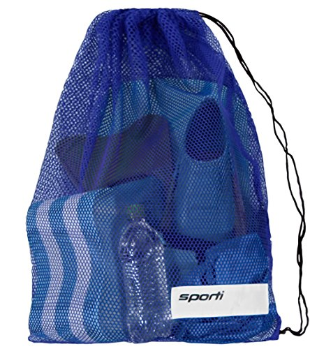 Sporti Mesh Equipment Bag (Blue)