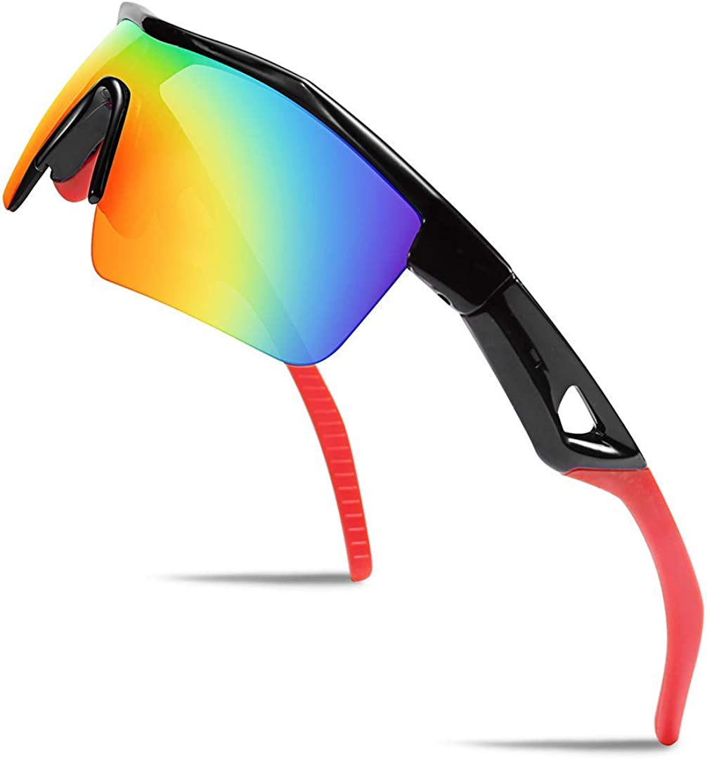 FEISEDY Kids Max 72% OFF Teens Sports Polarized G Boys Frame Super sale period limited Sunglasses TR90