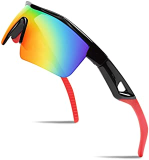Kids Teens Sports Polarized Sunglasses TR90 Frame Boys...