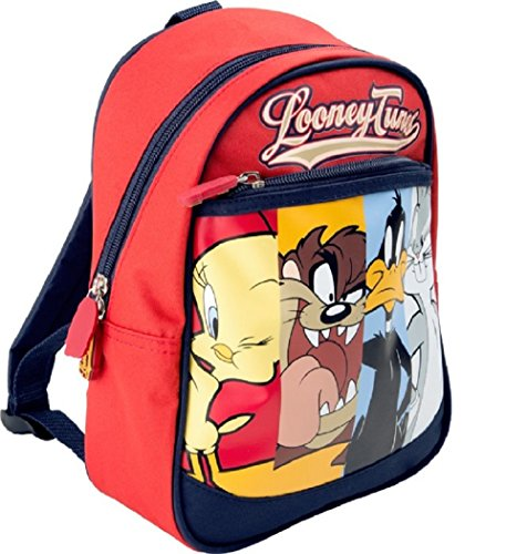 Looney Tunes - Mochila casual Rojo rojo