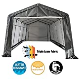 kdgarden 10x10x8 Feet Portable Shelter Shed Heavy Duty...