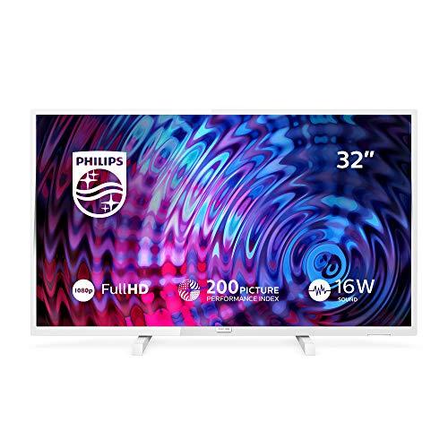 Philips TV Philips 32PFS5603/12 80 cm (32 Zoll) Full-HD Fernseher (Triple Tuner), Weiß