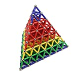 DOMIRE Magnetic Construction Set Toys Building Sticks Tiles Balls Blocks Magnet Educational Children Toddlers 157pcs