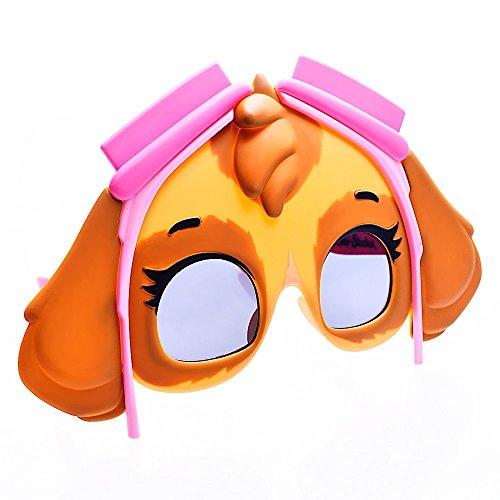 Sun-Staches Costume Sunglasses Skye Paw Patrol Party Favors UV400
