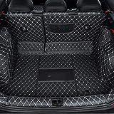 Bagagliaio auto mat SKODA KAROQ 2018 2019 della parte posteriore dell'automobile Fits vassoio Trunk Liner Cargo Mat Piano piede della protezione Pad clmaths (Color : Black)