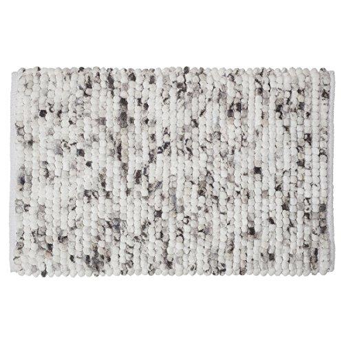 Sealskin Badteppich Vintage Grau Tapis de Bain, Tissu, Gris, 80 x 50 x 2,5 cm