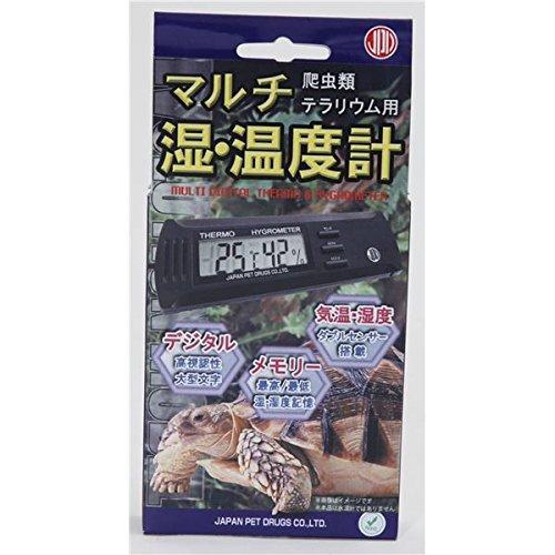 ニチドウ マルチ湿・温度計 (ペット用品)