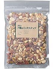 アイリスプラザ 食塩無添加 7種 ミックスナッツ 300g (アーモンド、カシューナッツ、くるみ、ピーカンナッツ、ピスタチオ、マカダミアナッツ、ヘーゼルナッツ)