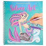 Depesche 11237 Silver Art Fantasy Model - Libro para colorear (22 x 20,5 x 1,5 cm)