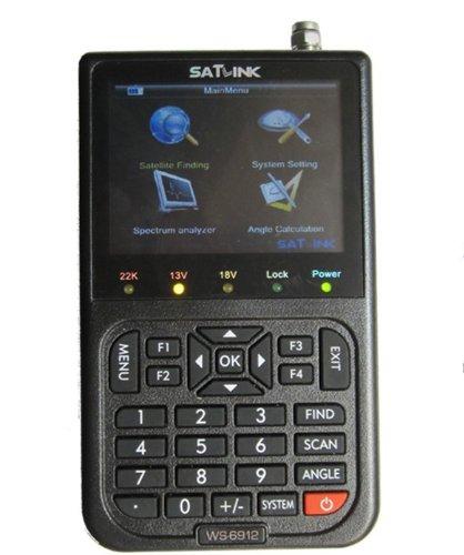 For Sale! New Dreamland(TM) SatLink WS6912 Professional DVB-S2 Digital Data Satellite Signal Finder ...