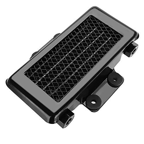 Yctze Enfriador de aceite de 65 ml, radiador de enfriamiento del enfriador de aceite del motor de aluminio para 100CC-250CC Moto Dirt Bike ATV(Negro)