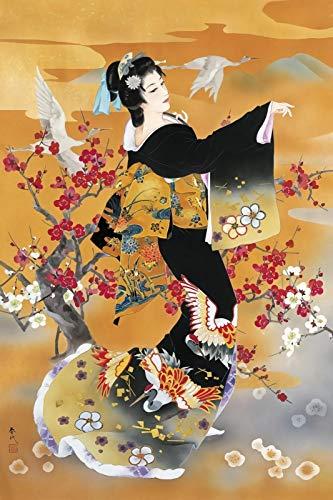 Rompecabezas 1500 Piezas Adultos De Madera Niño Puzzle-Cantante Japonesa-Juego Casual De Arte DIY Juguetes Regalo Interesantes Amigo Familiar Adecuado