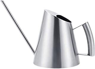 Plant Watering Cans Watering Kettle, Stainless Steel Brushed Watering Can Garden Planting Sprinkler Pot, Green Planting Fl...